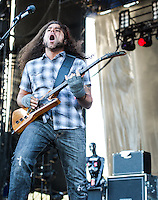 Coheed and Cambria perform at Voodoo Fest 2012 in New Orleans, LA.
