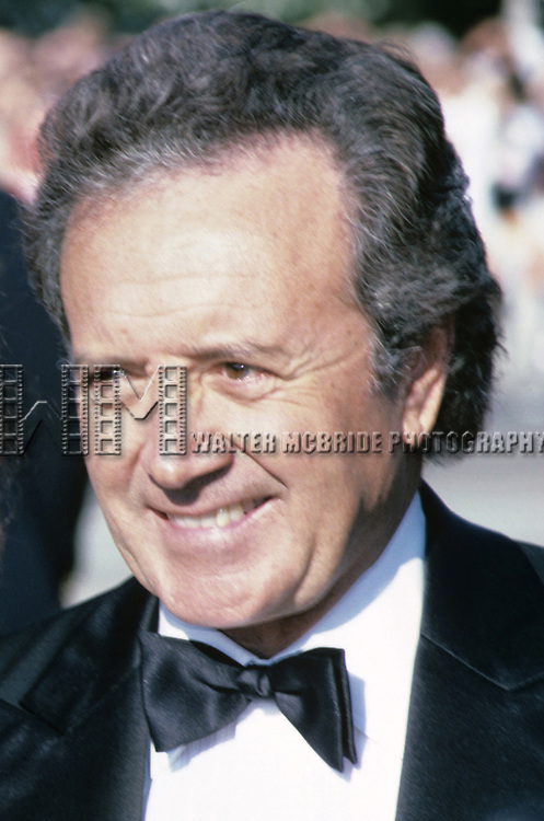 Vic Damone photographed at the Emmy Awards in September, 1986.