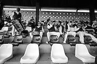 SÃO PAULO,SP,16.08.2014 - TAÇA OBERDAN CATANNI - Em comemoração ao centenário do alviverde o Palmeiras promoveu a disputa da taça Oberdan Catanni competição com tematica retro com a participação dos times master do Palmeiras (Palestra Italia),Juventus,Paulistano e Germania (atual Pinheiros) realizado no  estádio Conde Rodolfo Crespi (rua Javari) na manhã deste sabado (16).(Foto Ale Vianna/Brazil Photo Press).