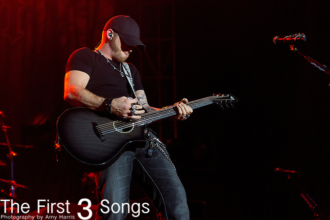 Brantley Gilbert performs at the ACM Party for a Cause Festival during The ACM Experience at The Orleans Hotel & Casino on April 5, 2013.
