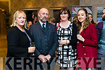 Eileen Peevers, Tommy Commane, Patricia Finn and Heather Peevers at the 'Rose Rocks For Sudan' Charity Dinner in Aid of Sudan at the Rose Hotel on Sunday night.