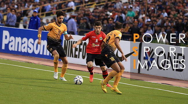 FC Istiklol vs Qadsia SC during the 2015 AFC Cup 2015 Group C match on April 15, 2015 at the Ashgabat Stadium in Ashgabat, Takijistan. Photo by Faridun Saliev / World Sport Group