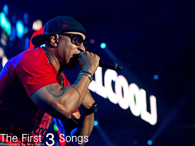 LL Cool J (born James Todd Smith) performs at the 2013 Essence Festival at the Mercedes-Benz Superdome in New Orleans, Louisiana.