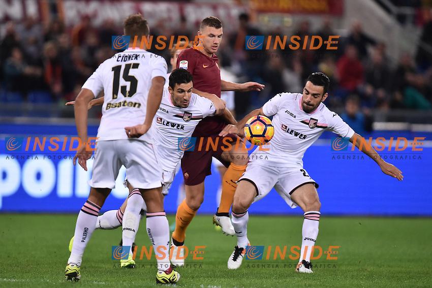 Edin Dzeko Roma <br /> Roma 23-10-2016  Stadio Olimpico <br /> Football Calcio Serie A 2016/2017 AS Roma - Palermo <br /> Foto Andrea Staccioli / Insidefoto
