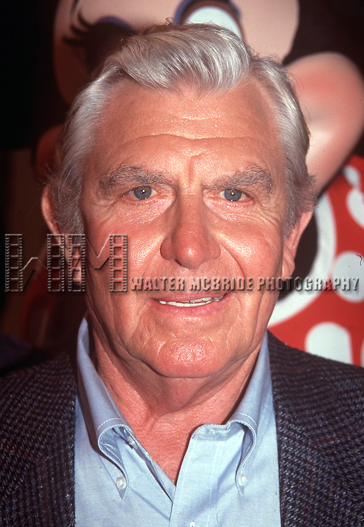 Andy Griffith in Orlando Florida on August 11th, 1992.