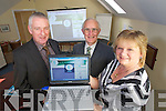 Pictured at the launch of the Adolescent Counselling Service Website at their office in Balloonagh on Friday were  Jimmy Mulligan, Tim Lynch Chairman of the Board andCaroline Flahive project Manager.