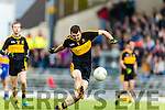 Michael Moloney Dr Crokes in action against  Kenmare District in the Senior County Football Championship final at Fitzgerald Stadium on Sunday.