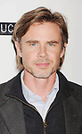 "BEVERLY HILLS, CA - NOVEMBER 27: Sam Trammell arrives at the Los Angeles premiere of ""Certainty"" at the Lamelle Music Hall on November 27, 2012 in Beverly Hills, California."