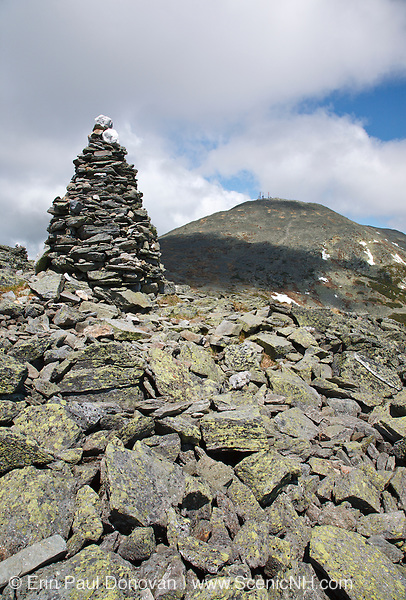 Large rock cairn along Davis Path<br />