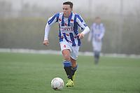 VOETBAL: HEERENVEEN: 23-11-2014, Sportpark Skoatterwâld, VV Heerenveen - Frisia, uitslag 2 - 0, Remco Hof, (#4), ©foto Martin de Jong