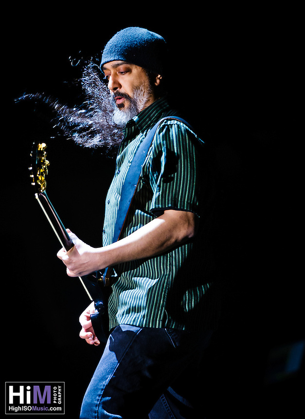 Soundgarden at Voodoo Festival 2011 in New Orleans, LA.