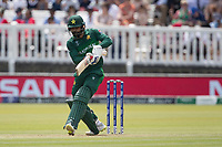 Mohammad Hafeez (Pakistan) pulls square of the wicket during Pakistan vs Bangladesh, ICC World Cup Cricket at Lord's Cricket Ground on 5th July 2019