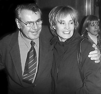 MIlos Forman Jessica Lange 1999<br /> Photo By John Barrett/PHOTOlink