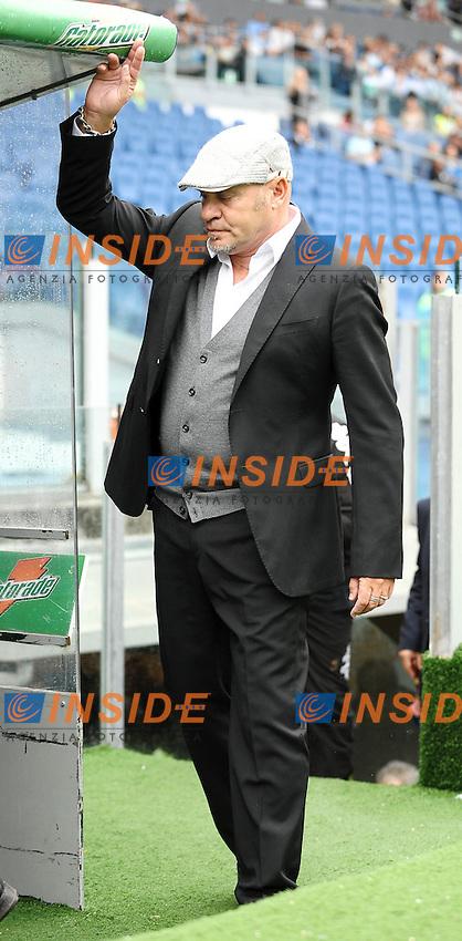 """Serse Cosmi allenatore del Siena.Roma 30/9/2012 Stadio """"Olimpico"""".Football Calcio Serie A 2012/2013.Lazio Vs Siena.Foto Andrea Staccioli Insidefoto"""