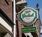 Grolsch bar sign Haarlem Holland