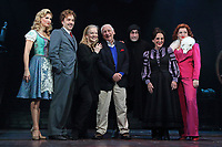 Summer Strallen, Hadley Fraser, Mel Brooks, Lesley Joseph, Ross Noble and Dianne Pilkington at the Young Frankenstein Photocall at the Garrick Theatre, London on October 5th 2017<br /> CAP/ROS<br /> &copy;ROS/Capital Pictures