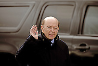 Investor Wilbur Ross arrives for a meeting with United States President-elect Donald Trump (not pictured) at the clubhouse of Trump International Golf Club, in Bedminster Township, New Jersey, USA, 20 November 2016.<br /> Credit: Peter Foley / Pool via CNP /MediaPunch