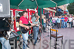 Killarney musicians charity busking gig in Market Cross, Killarney, last Monday