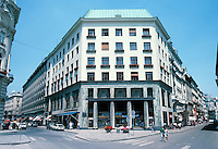 Adolph Loos: Goldman Building (Loos House), 1911. Michaelerplatz 3, Vienna. Mixed use building