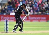 Jun 6th, The SSE SWALEC, Cardiff, Wales; ICC Champions Trophy; England versus New Zealand; Kane Williamson of New Zealand drives the ball