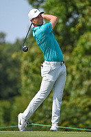 Lucas Bjerregaard (DEN) watches his tee shot on 9 during round 3 of the WGC FedEx St. Jude Invitational, TPC Southwind, Memphis, Tennessee, USA. 7/27/2019.<br /> Picture Ken Murray / Golffile.ie<br /> <br /> All photo usage must carry mandatory copyright credit (© Golffile | Ken Murray)