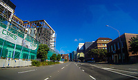 Waterloo Quay at 2pm, Saturday during lockdown for the COVID19 pandemic in Wellington, New Zealand on Saturday, 18 April 2020. Photo: Dave Lintott / lintottphoto.co.nz