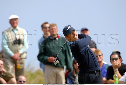 JUSTIN LEONARD (USA). The Open Championship, Muirfield, Scotland 020718 Photo:Glyn Kirk/Action Plus...Golf.2002..