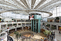 Luxury shops at Istinye Park shopping center mall near Levent financial business district, Istanbul, Republic of Turkey