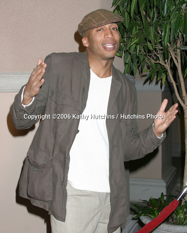 James Lesure.NBC TCA Press Tour Party.Pasadena Ritz Carlton Hotel.Padadena, CA.January 22, 2006.©2006 Kathy Hutchins / Hutchins Photo....