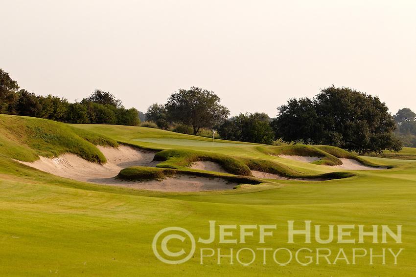 SAN ANTONIO, TX - August 27, 2010: Briggs Ranch Golf Club. (Photo by Jeff Huehn)
