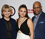 Jeannie Santiago, Lily Santiago and Ruben Santiago-Hudson attends the Opening Night Party for Red Bull Theater's All-Female MAC BETH at Houston Hall on May 19, 2019 in New York City.
