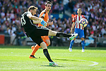 Atletico de Madrid's Jan Oblak during Liga Liga match between Atletico de Madrid and SD Eibar at Vicente Calderon Stadium in Madrid, May 06, 2017. Spain.<br /> (ALTERPHOTOS/BorjaB.Hojas)