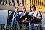 Kate Kennelly, Kerry Mayor Pat McCarthy and Moira Murrell  officially launch  the Kerry Arts Strategy 2016-2021at the Kerry County Library Tralee on Tuesday