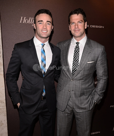 NEW YORK, NY - APRIL 16: Thomas Roberts and guest attend The Hollywood Reporter 35 Most Powerful People In Media Celebration at The Four Seasons Restaurant on April 16, 2014 in New York City RTNPluvious/MediaPunch