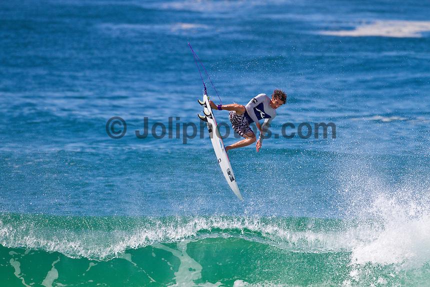 James Wood (AUS) surfing D-Bah, Coolangatta, Quueensland, Australia. Photo: joliphotos.com