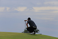 Andrew &quot;Beef&quot; Johnson (ENG) at the 18th green during Saturday's Round 3 of the 117th U.S. Open Championship 2017 held at Erin Hills, Erin, Wisconsin, USA. 17th June 2017.<br /> Picture: Eoin Clarke | Golffile<br /> <br /> <br /> All photos usage must carry mandatory copyright credit (&copy; Golffile | Eoin Clarke)