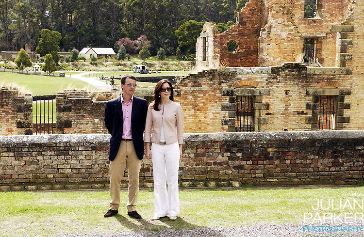 Crown Prince Frederik & Crown Princess Mary of Denmark visit Australia..Visit to the Port Arthur Historic Site in Tasmania...