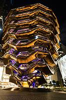 NOVA YORK, NY, 12.10.2019 - TURISMO-EUA - Vista do The Vessel no Hudson Yards na Ilha de Manhattan em Nova York neste sabado, 12. (Foto: Vanessa Carvalho/Brazil Photo Press)