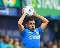 Nathan Thompson of Portsmouth during Portsmouth vs Rochdale, Sky Bet EFL League 1 Football at Fratton Park on 13th April 2019