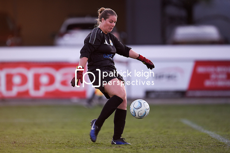 BRISBANE, AUSTRALIA - AUGUST 31:  during the NPL Queensland Senior Womens Round 26 match between Lions FC and Gold Coast United at Lions Stadium on August 31, 2019 in Brisbane, Australia. (Photo by Patrick Kearney)