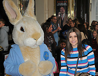 "Imogen Thomas at the ""Where Is Peter Rabbit?"" musical press night, Theatre Royal Haymarket, Suffolk Street, London, England, UK, on Tuesday 09th April 2019.<br /> CAP/CAN<br /> ©CAN/Capital Pictures"