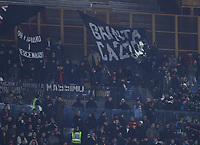 26th January 2020; Stadio San Paolo, Naples, Campania, Italy; Serie A Football, Napoli versus Juventus;  supporters of Napoli show their colours