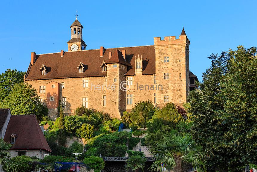 France, Allier (03), Montluçon, château des Ducs de Bourbon // France, Allier, Montlucon, Castle of the Dukes of Bourbon