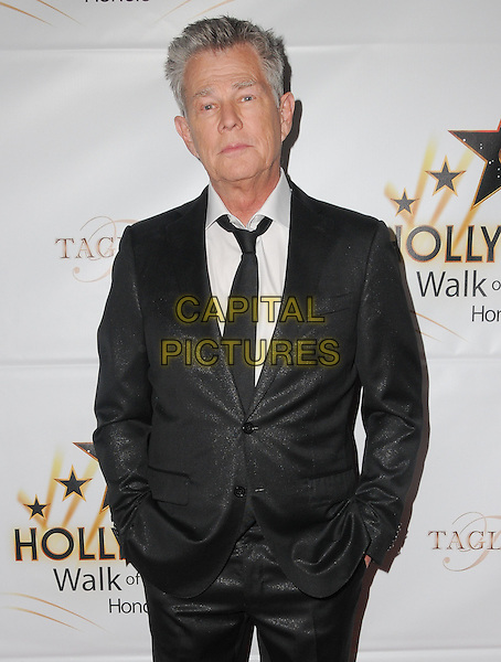 25 October 2016 - Hollywood, California. David Foster. Hollywood Walk Of Fame Honors held at Taglyan Complex. <br /> CAP/ADM/BT<br /> &copy;BT/ADM/Capital Pictures