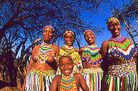 Native Zulu Tribe at Shakaland Center South Africa