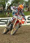 Motocross, MX2 WM 2004, Weltmeisterschaft, Grand Prix of Europe, Gaildorf (Germany) Garreth Swanepoel (RSA), KTM