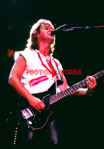 Asia 1982 John Wetton.© Chris Walter.