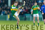 James O'Donoghue Kerry in action against  Limerick in the Final of the McGrath Cup at the Gaelic Grounds on Sunday.