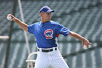 June 18th 2007:  Alan Trammell of the Chicago Cubs during a game at Wrigley Field in Chicago, IL.  Photo by:  Mike Janes/Four Seam Images