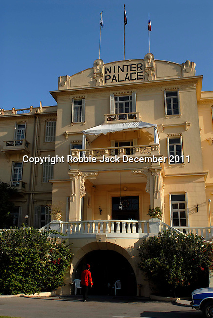 The Winter Palace Hotel in Luxor was founded in 1887.The town of Luxor occupies the eastern part of a great city of antiquity which the ancient Egytians called Waset and the Greeks named Thebes.